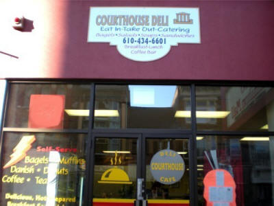 Courthouse Deli and Catering - Tina invites you to stop in for breakfast or lunch